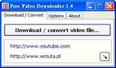 youtube影片下載+flv影片格式轉檔-Free Video Downloader