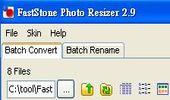 批次縮圖及更名軟體-FastStone Photo Resizer