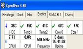 cpu溫度、風扇測偵軟體-SpeedFan