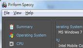 查硬體規格、CPU溫度、硬碟溫度-Speccy