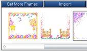 將寶寶照片加上動態可愛邊框-Glitter Frame GIF Maker
