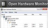 cpu、gpu、hd溫度及風扇轉速等硬體監控-Open Hardware Monitor