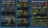 小型監控工具,監控系統、硬碟、網路使用-Monitor