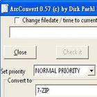 壓縮檔檔案格式轉換,解壓縮不再是問題-ArcConvert