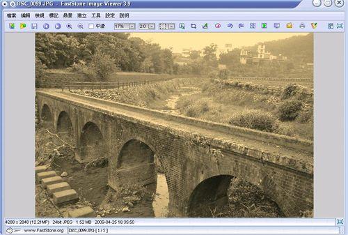 看圖軟體FastStone Image Viewer復古影像處理效果