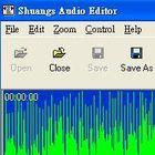 mp3及音樂切割器-Shuangs Audio Editor