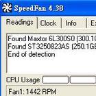 cpu、hd溫度及風扇轉速監控-SpeedFan