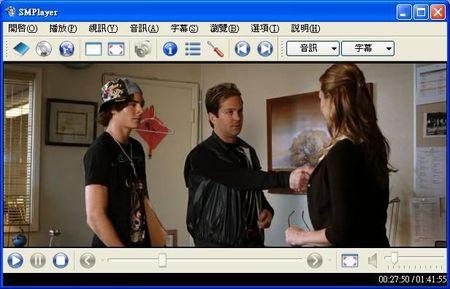 SMPlayer擔任播放avi、dvix、mpeg、mkv等各格式影片