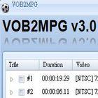 vob轉檔程式,vob轉mpeg-VOB2MPG